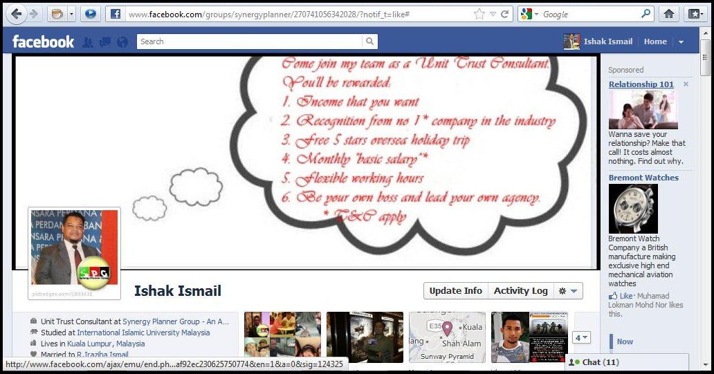 dialog boxedit benefit utc My Cool Facebook Timeline Cover