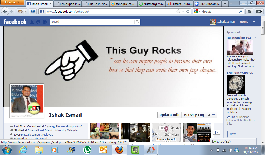 inspire prnt screen My Cool Facebook Timeline Cover