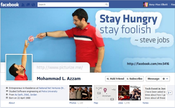 time line hungry Cool Facebook Timeline Profile