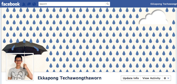 time line rainy Cool Facebook Timeline Profile