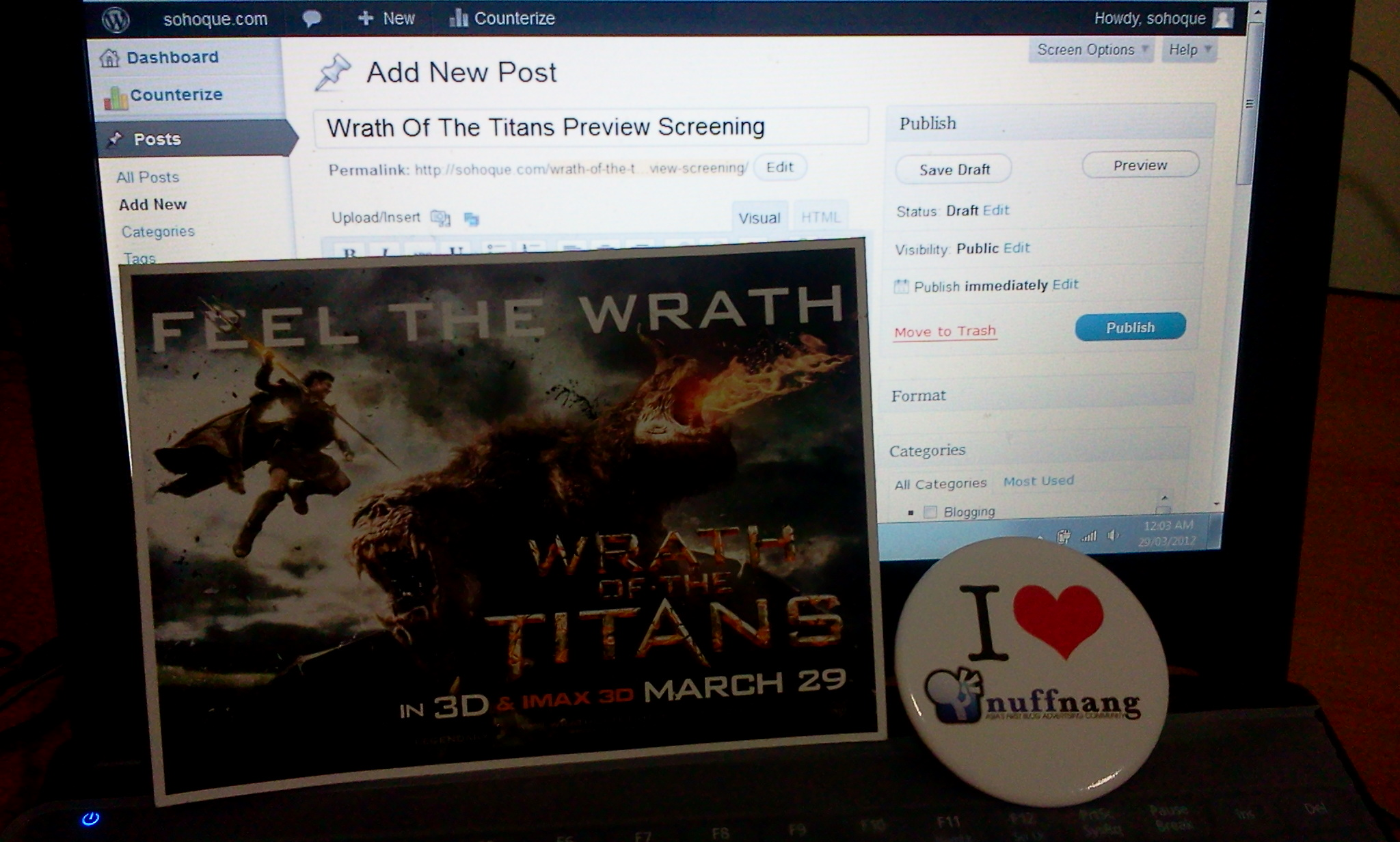 wrath bloggong Pengalaman Pertama Di Event Movie Preview Screening