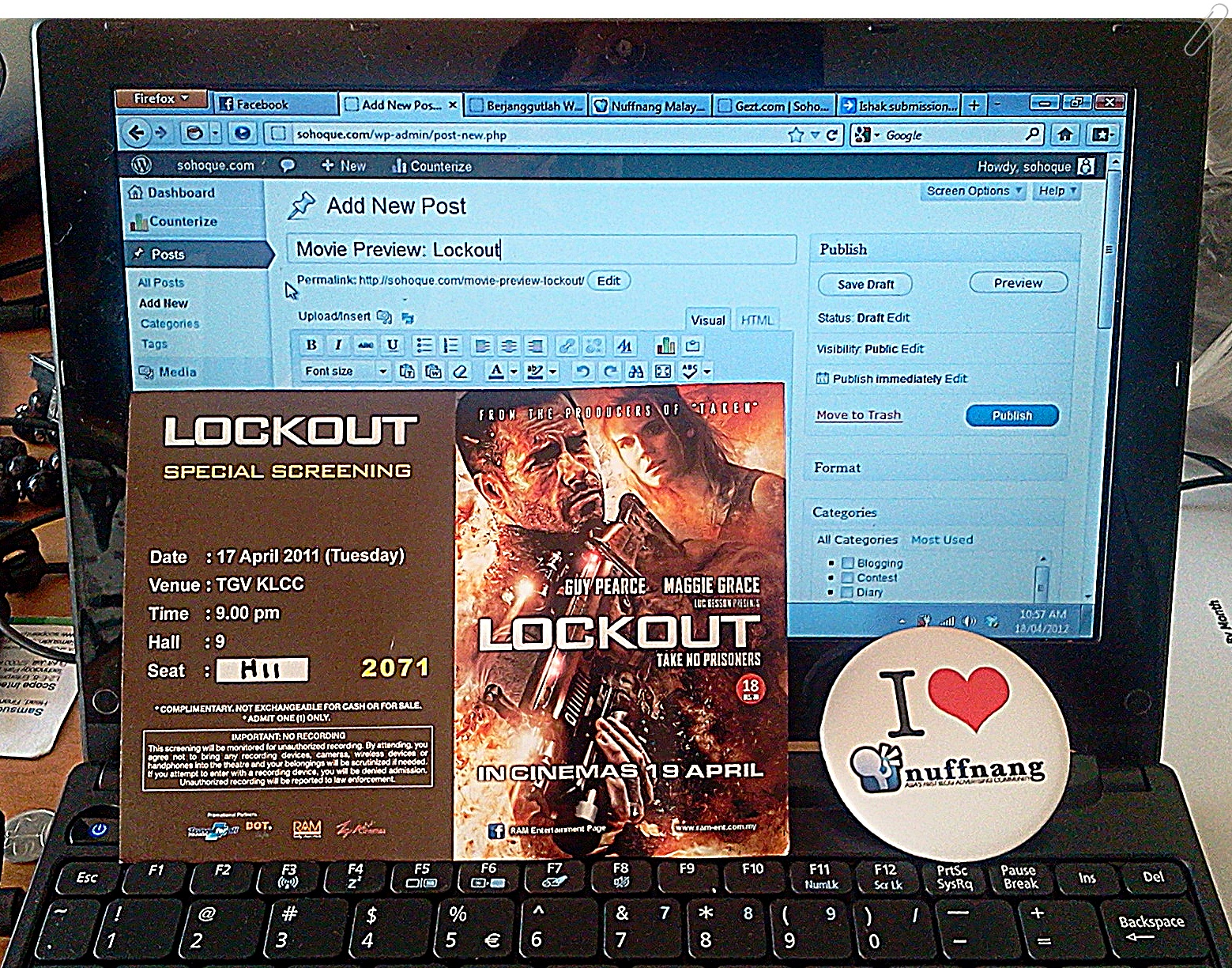 lockout Movie Review: Lockout