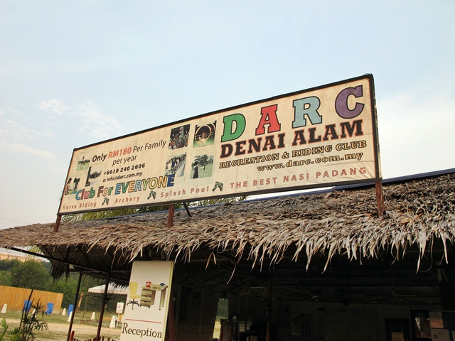 sigboard Denai Alam Recreational Club (DARC)
