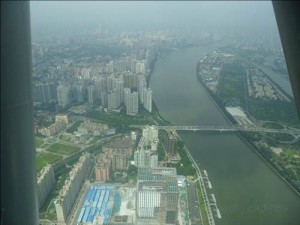 from abobe 300x225 Canton Tower   Menara TV Tertinggi Di Dunia