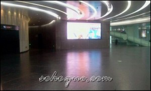 ground floor canton tower 300x181 Canton Tower   Menara TV Tertinggi Di Dunia