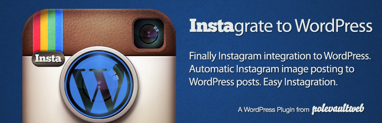 instagrate to wordpress Plugin Mesti Install   Instagrate to WordPress