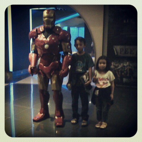 wpid IMG 20130501 223711 Wordless Wednesday: Iqbal, Iffah dan Iron Man