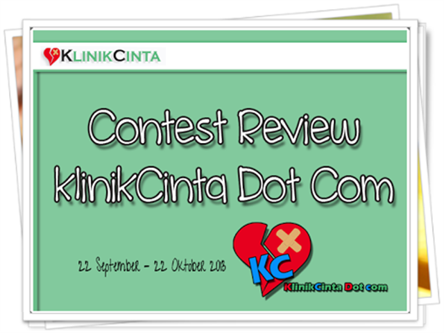 kontes review di blog klinik cinta