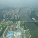 pearl river view from canton tower