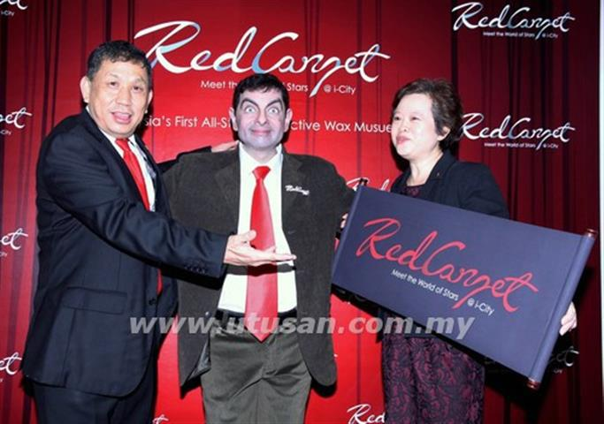 Replika Mr Bean di Muzium Lilin i-City Shah Alam