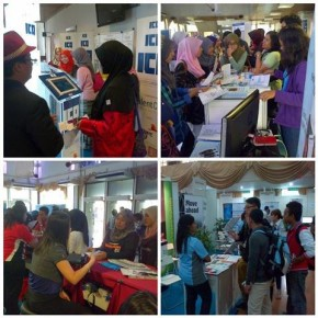 pengunjung pameran Sector Fokus Career Fair