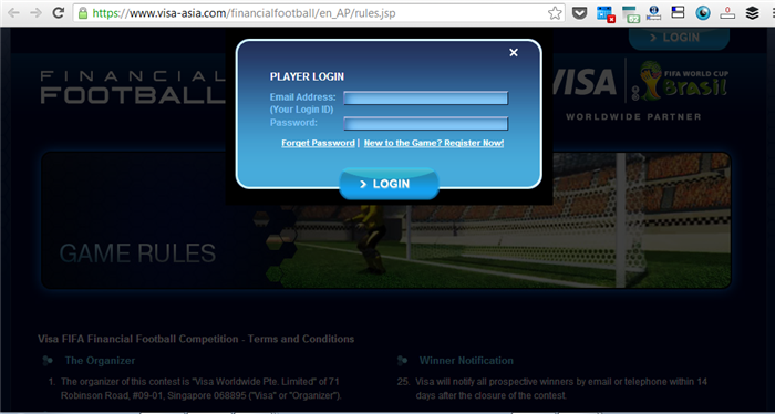 visa financial football 1