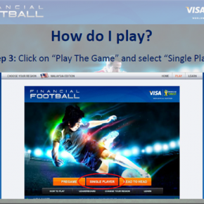 play the game visa financial football