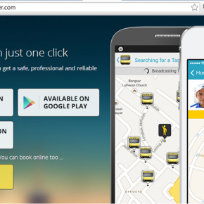 apps taxi monger