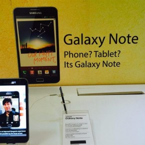 galaxy note – phablet