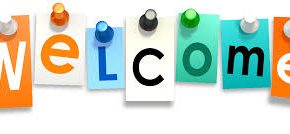 welcome signboard