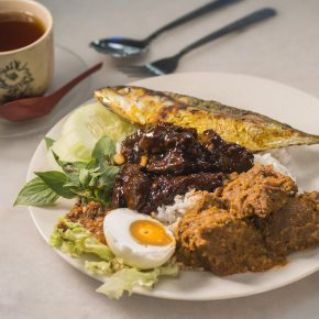 Enjoy kampung-styled dishes with rice